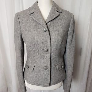 Talbots Blazer Gray Size 10 New Without Tags
